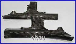 Mitsubishi Lancer Evolution / Evo X Door Sills Trim (Rear) Carbon Fiber