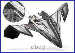 New Honda Atc70 78 85 Black Carbon Fiber Plastic Front And Rear Fender Set