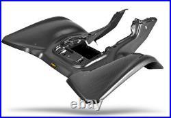 New Suzuki Ltz400 Z400 03 08 Kfx400 Plastic Black Carbon Fiber Rear Fender