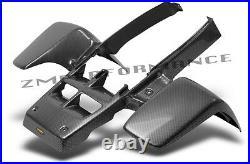 New Yamaha Banshee Yfz 350 Plastic Black Carbon Fiber Standard Front Fender