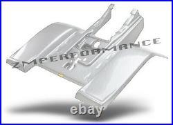 New Yamaha Banshee Yfz 350 Plastic White Carbon Fiber Standard Rear Fender