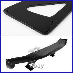 Nrg Innovation Lightweight 69 Gt Style Carbon Fiber Rear Trunk Spoiler+brackets