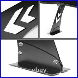 Nrg Innovations Carb-a692 69 Gt Style Rear Trunk Racing Carbon Fiber Spoiler