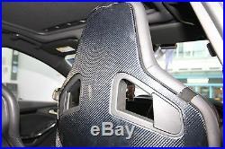 One pair of carbon fiber seatback cover suit for Recaro Sportster CS Sport Seat