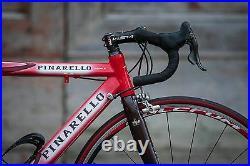 Pinarello Prince Alu-Carbon fiber tubes Campagnolo Record Carbon small size 50