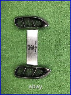 Porsche 718 carbon fiber body kit Front Bumper Lip Spoiler SideSkirt Diffuser