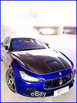RACINGSPORTPLUS Maserati Ghibli ASP STYLE Carbon Fiber Hood