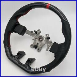 REVESOL Hydro Carbon Fiber Steering Wheel for 2013-2018 Dodge Ram 1500/2500/3500