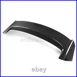 Rear Roof Spoiler Wing Lip Real Carbon Fiber For VW GOLF 7 VII MK7 GTI 2014-17