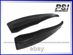 Rear Splitter Lip Carbon Fiber fit BMW E60 528i 535i 550i with OEM M Tech Bumper