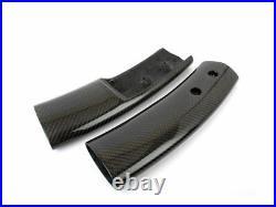 Replacement Carbon Fiber Interior Console Post Trims For Mini Cooper R50 R52 R53
