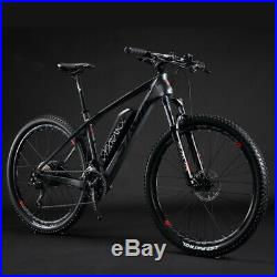 SAVA Carbon Fiber e Bike 27.5 inch Electric Mountain Bike SHIMANO 27S 36V/13Ah