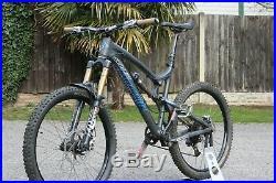 Santa Cruz, Nomad C (Carbon Fibre, FOX 36 Kashima, FOX FLOAT Kashima, SRAM XX1)