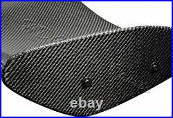 TYPE-4 3D Universal 51 Real Carbon Fiber Adjustable Rear Trunk GT Spoiler Wing