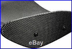 Universal 51 TYPE-4 Real Carbon Fiber Adjustable Rear Trunk GT Spoiler Wing