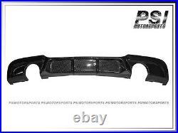 V Type Carbon Fiber Diffuser For 06-11 BMW E90 E91 3 Series 4Dr 5Dr M-Tech Only