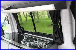 VW T5, T6 Campervan Storage Shelf, 1030mm Carbon Fibre Curved Top Storage