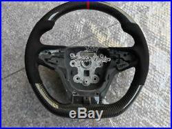 Vf carbon fiber steering wheel -paddle shifter maloo Hsv r8 alcantara chevy ss