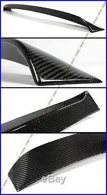 Vip Carbon Fiber Rear Roof Spoiler Visor Fit For 2009-13 Infiniti G25 G37 Sedan