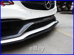 W205 Mercedes Benz C63 / C63s AMG Eu Style Carbon Fiber Front Trim Replacement