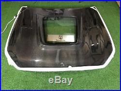 W205 Mercedes Benz C63 / C63s IMP Style Carbon Fiber Center Glass Hood Body Kit