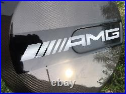 W463 /w 464 AMG style Carbon Fiber Spare Wheel Tire Cover For Mercedes G-Class