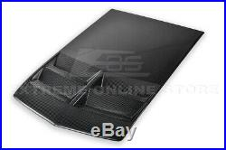 ZL1 Style TL1 Carbon Fiber Heat Extractor Hood Insert For 10-15 Chevrolet Camaro